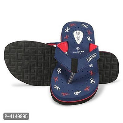 Women Navy Blue Perforations EVA Room Slippers