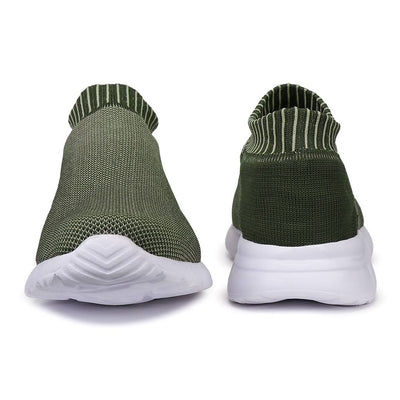 Men's Stylish and Trendy Khaki Solid Canvas Casual Sports Shoes