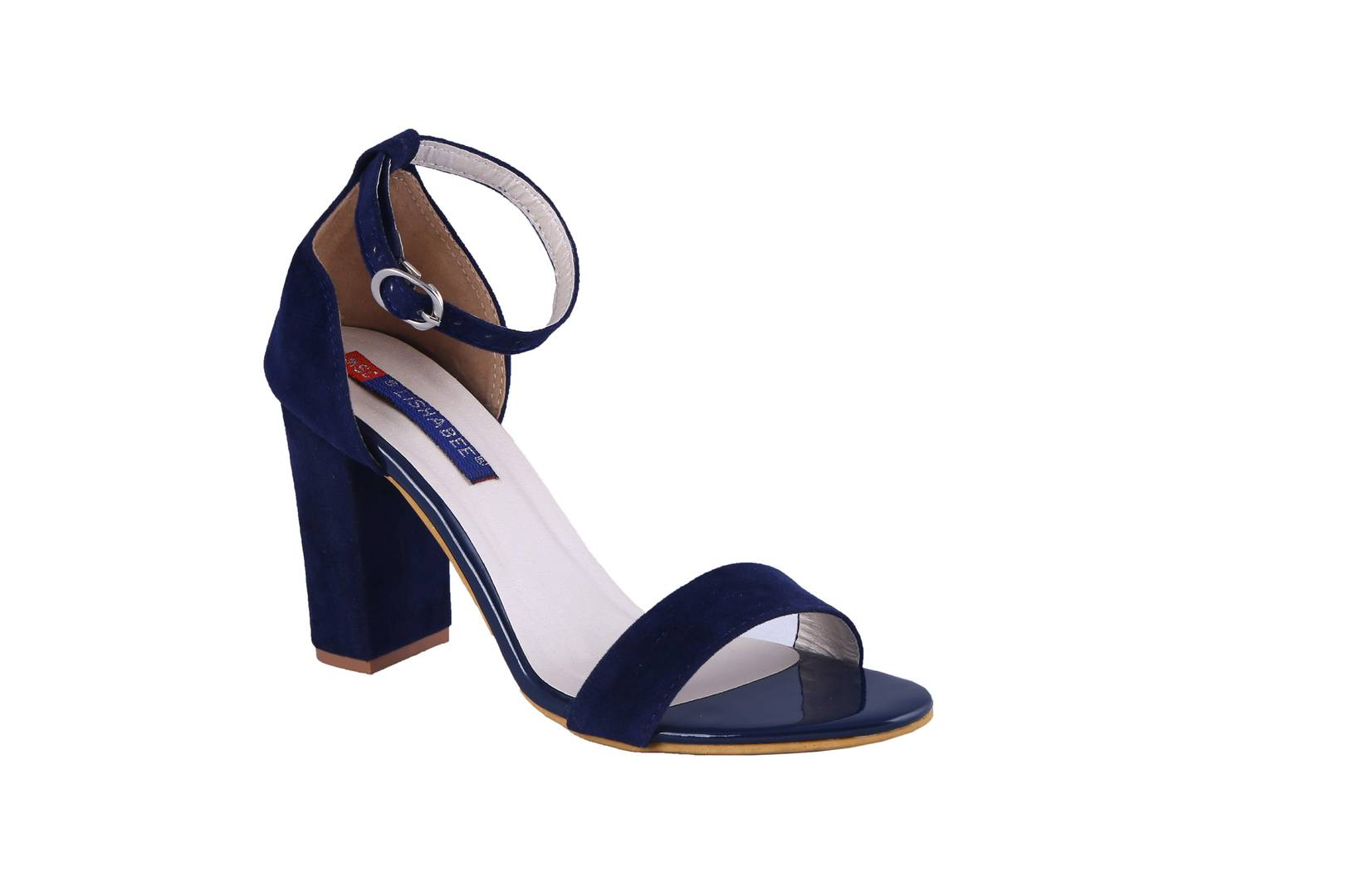 Women Synthetic Blue heel