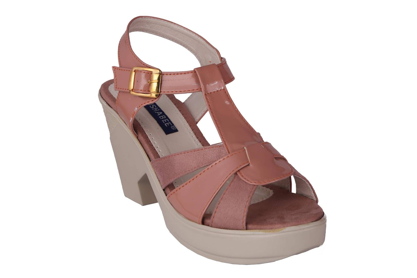 Women Synthetic Pink Wedges
