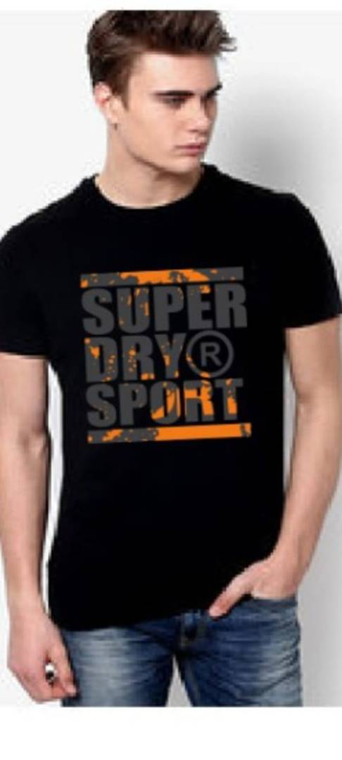 HIGH QUALITY, PURE COTTON BRANDED MEN T-SHIRT.