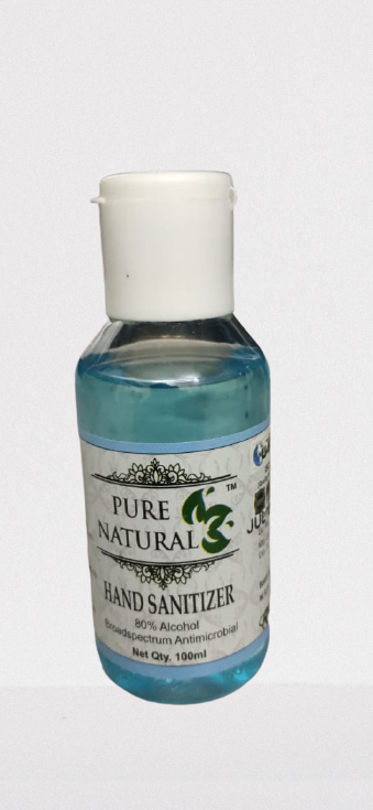 Pure Sanitizers - 100 ml (Pack of 8)