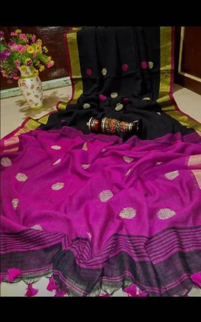 Khadi Cotton Soft Saree's
