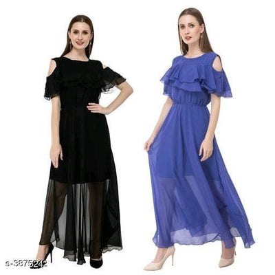 Georgette Women's Dress Combo