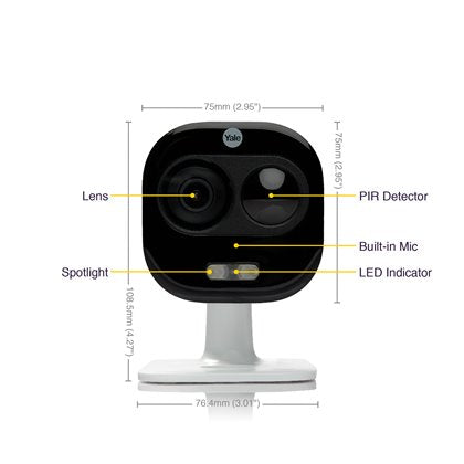 Yale Smart Home All-in-One camera SV-DAFX-W_EU