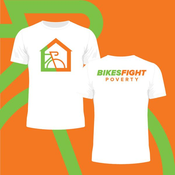 Youth Bikes Fight Poverty Tshirt