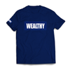 Wealthy Tee (Navy/Navy/White)