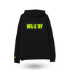 Wealthy Hoodie (Black/Black/Neon Yellow)