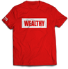 Wealthy Tee (Red/White)