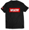 Wealthy Tee (Black/Red/White)