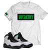 Wealthy Tee (White/Black/Green)