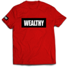 Wealthy Tee (Red/Black/White)
