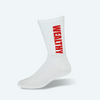Wealthy Socks (White/Red)
