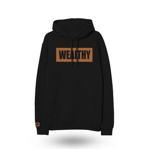 Wealthy Hoodie (Black/Wheat)