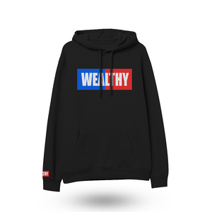 Wealthy Hoodie (Black/Blue/Red/White)