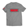 Wealthy Tee (Grey/Grey/Red)