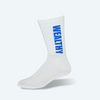 Wealthy Socks (White/Blue)