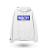 Wealthy Hoodie (White/Royal)