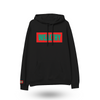 Wealthy Hoodie (Black/Red/Green)