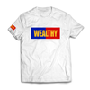 Wealthy Tee (White/Blue/Red/Yellow)