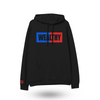 Wealthy Hoodie (Black/Blue/Red)