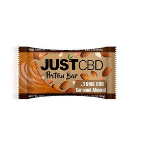 JustCBD Protein Bars 25mg Caramel Almond
