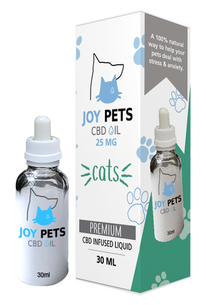 Joy Pets CBD Oil for Cats 25mg