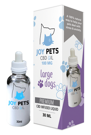 Joy Pets CBD Oil for Large Dogs 100mg