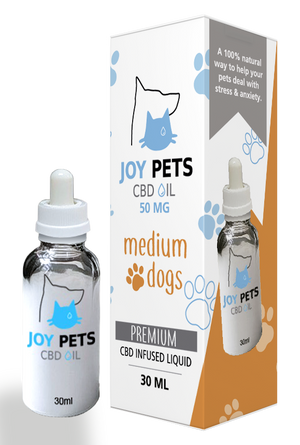Joy Pets CBD Oil for Medium Dogs 50mg