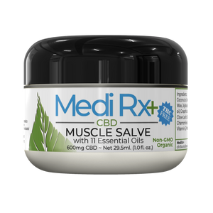 Medi Rx+ Muscle Salve with 11 Essential Oils