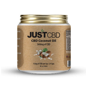 JustCBD Coconut Oil 360mg