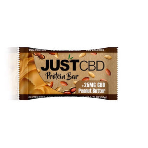 JustCBD Protein Bars 25mg Peanut Butter