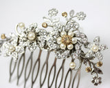 Sabine Hair Comb with Colour Accent