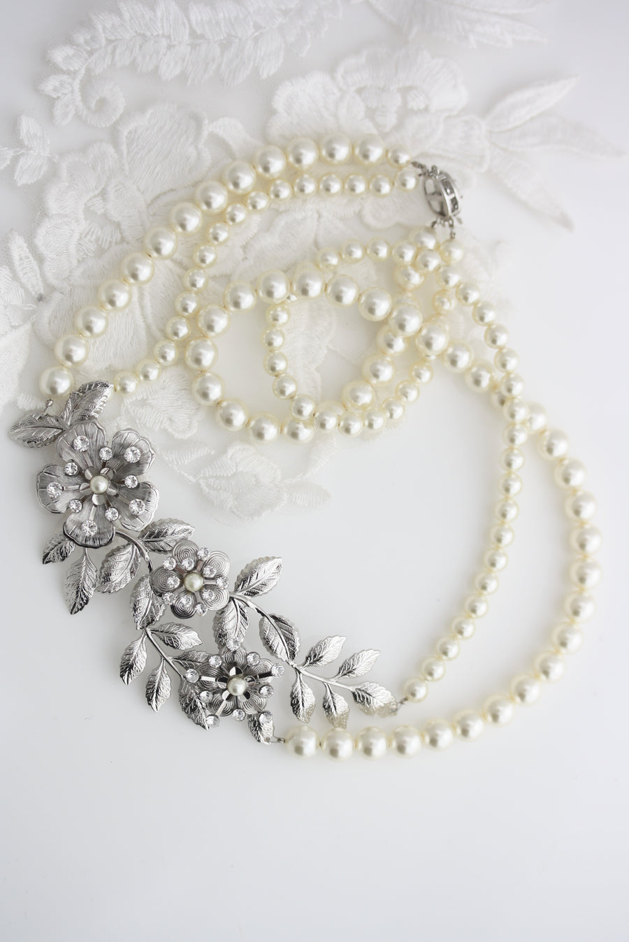 Lisse Pearl Necklace - Lulu Splendor