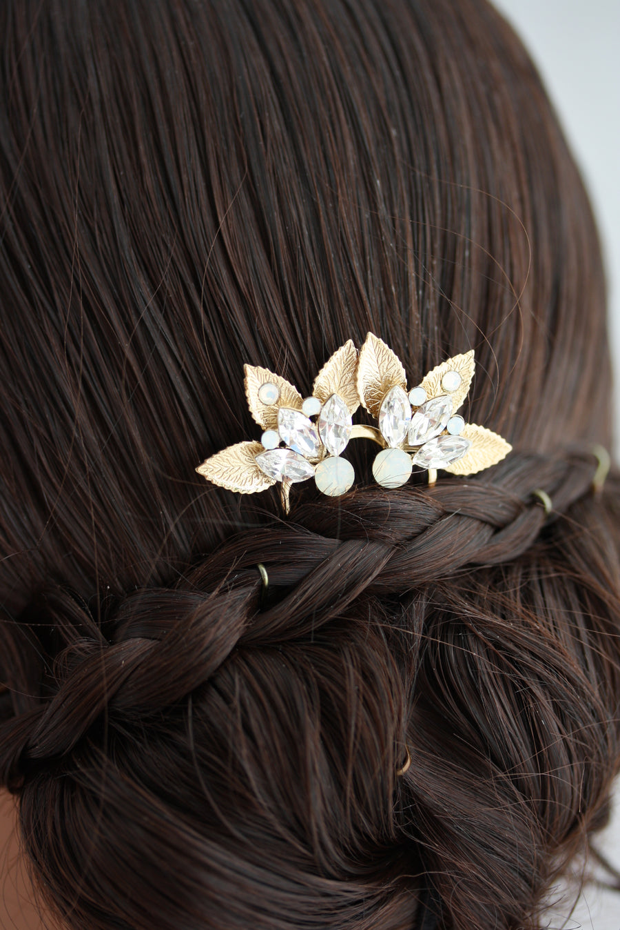 Little Lene Leaf Hair Comb
