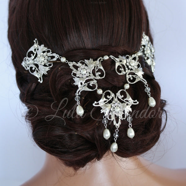 Ruth Wedding Headpiece