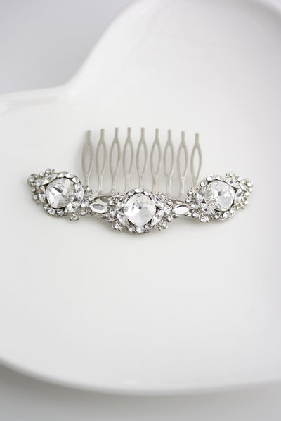 Estella Bridal Hair Comb - Lulu Splendor