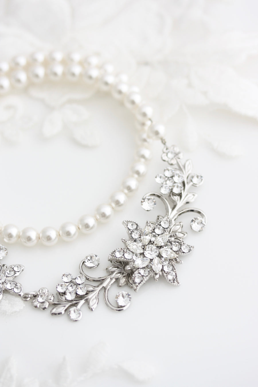 CLASSIC TESS WEDDING NECKLACE