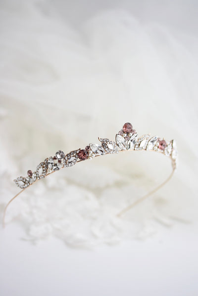 Pink Aggie Wedding Tiara