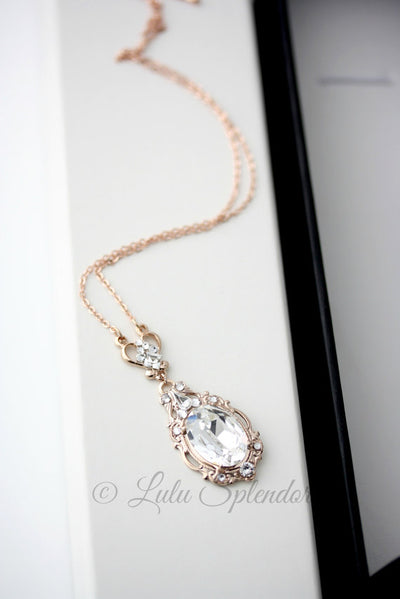 Ryan Crystal Bridal Pendant - Lulu Splendor