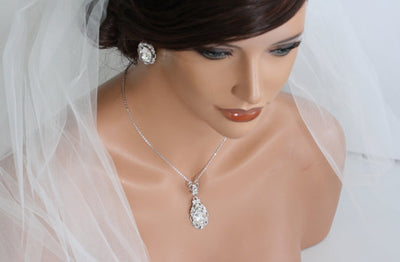 Ryan Crystal Bridal Pendant