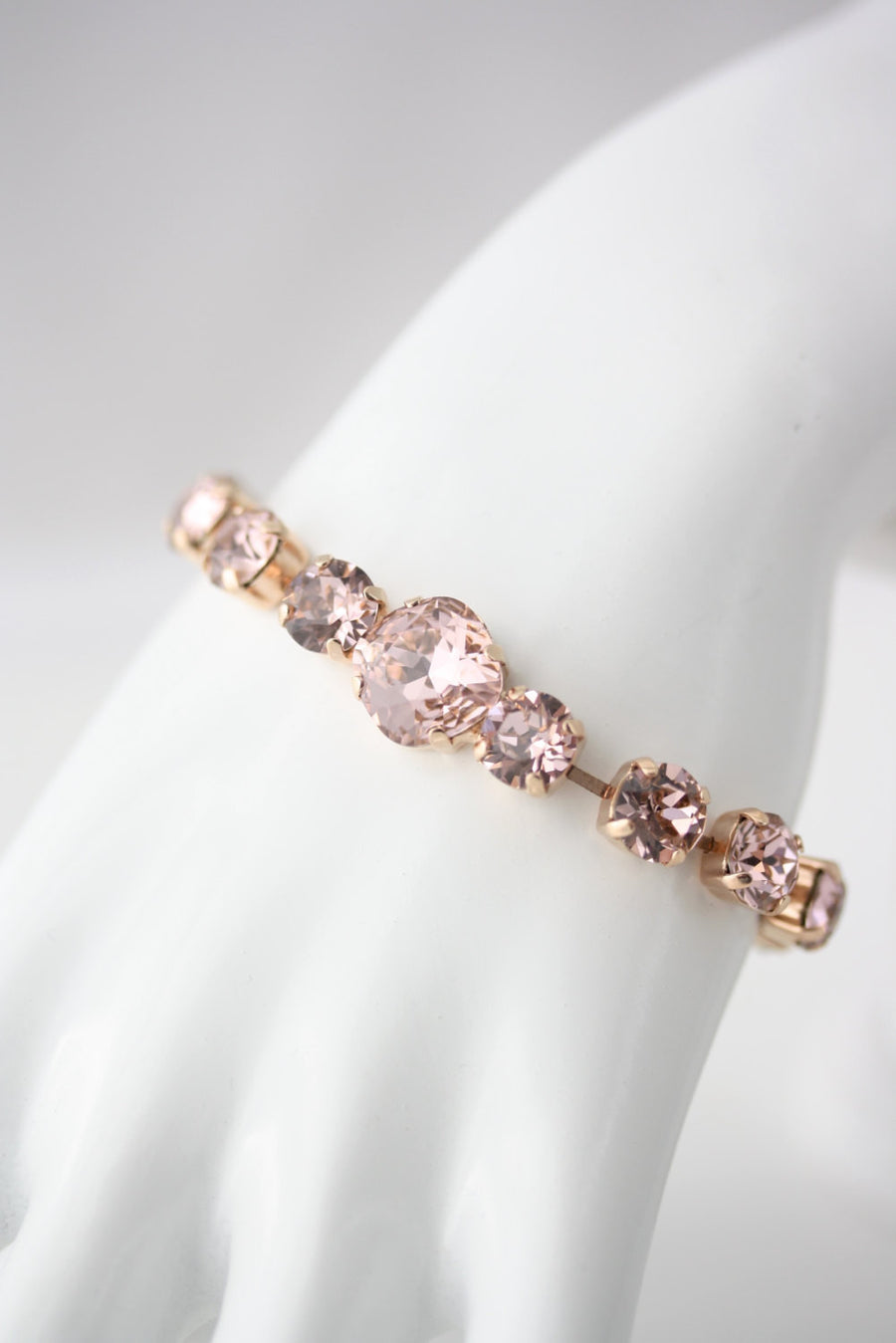 Bexley Rose Gold Bridal Bracelet - Lulu Splendor