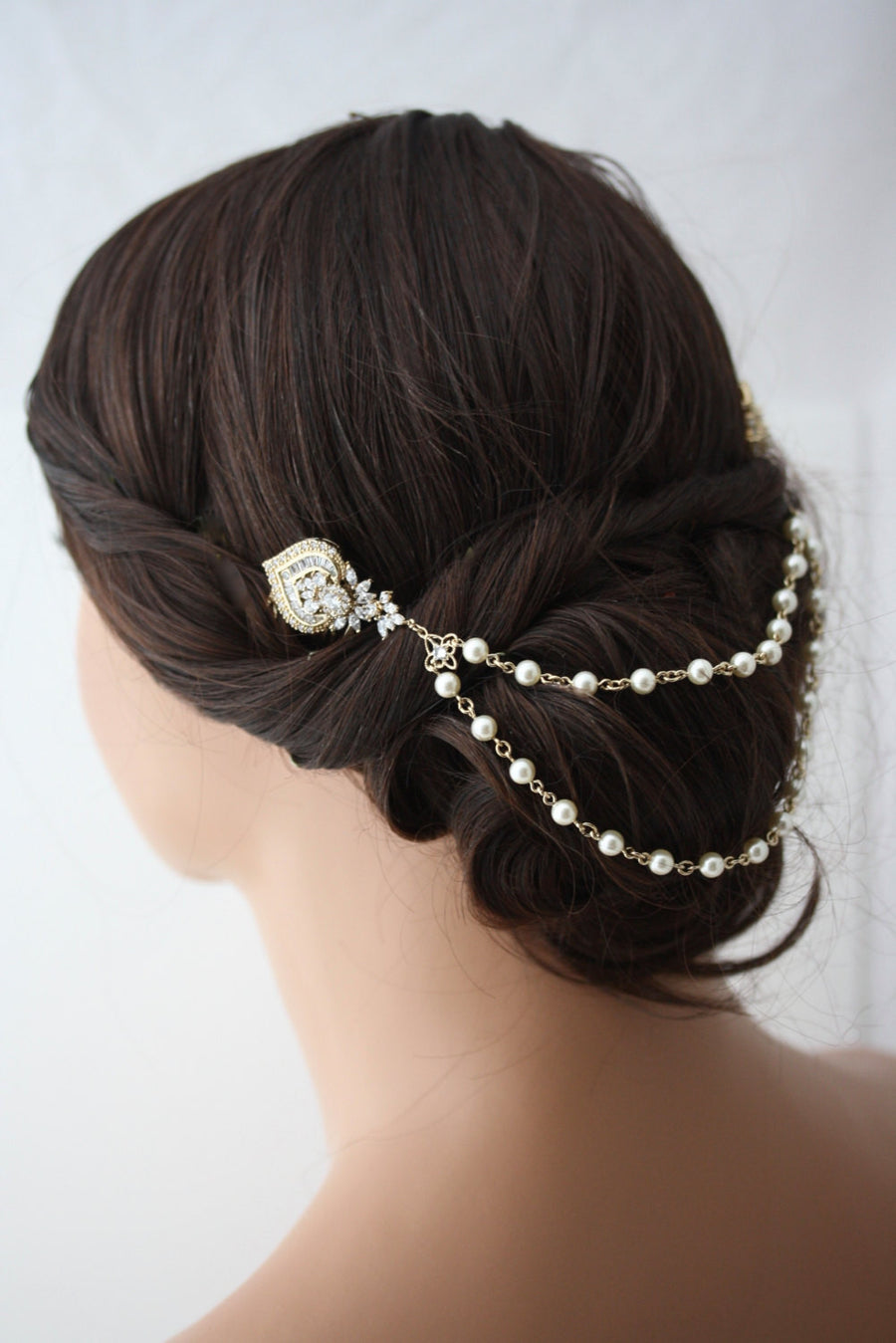 Evie Wedding Hair Chain - Lulu Splendor
