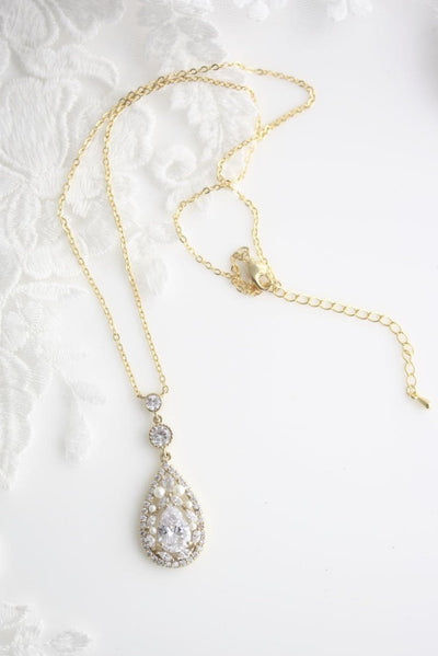 TARA GOLD BRIDAL NECKLACE