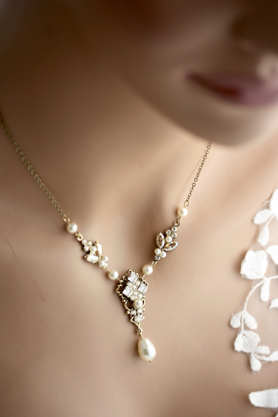 Katrina Wedding Necklace Vintage