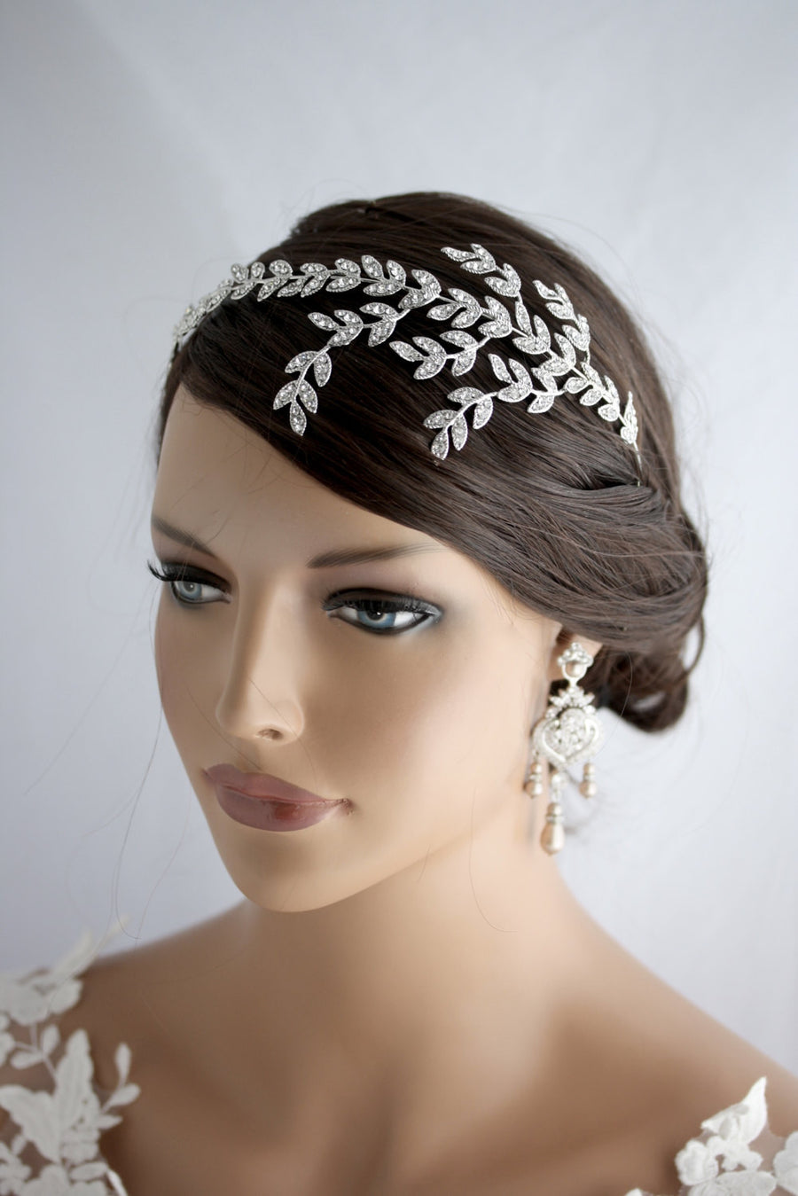 NEVE BRIDAL HAIRBAND - Lulu Splendor