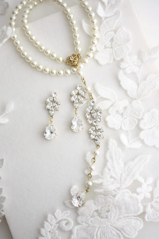 Amelia Bridal Necklace Set