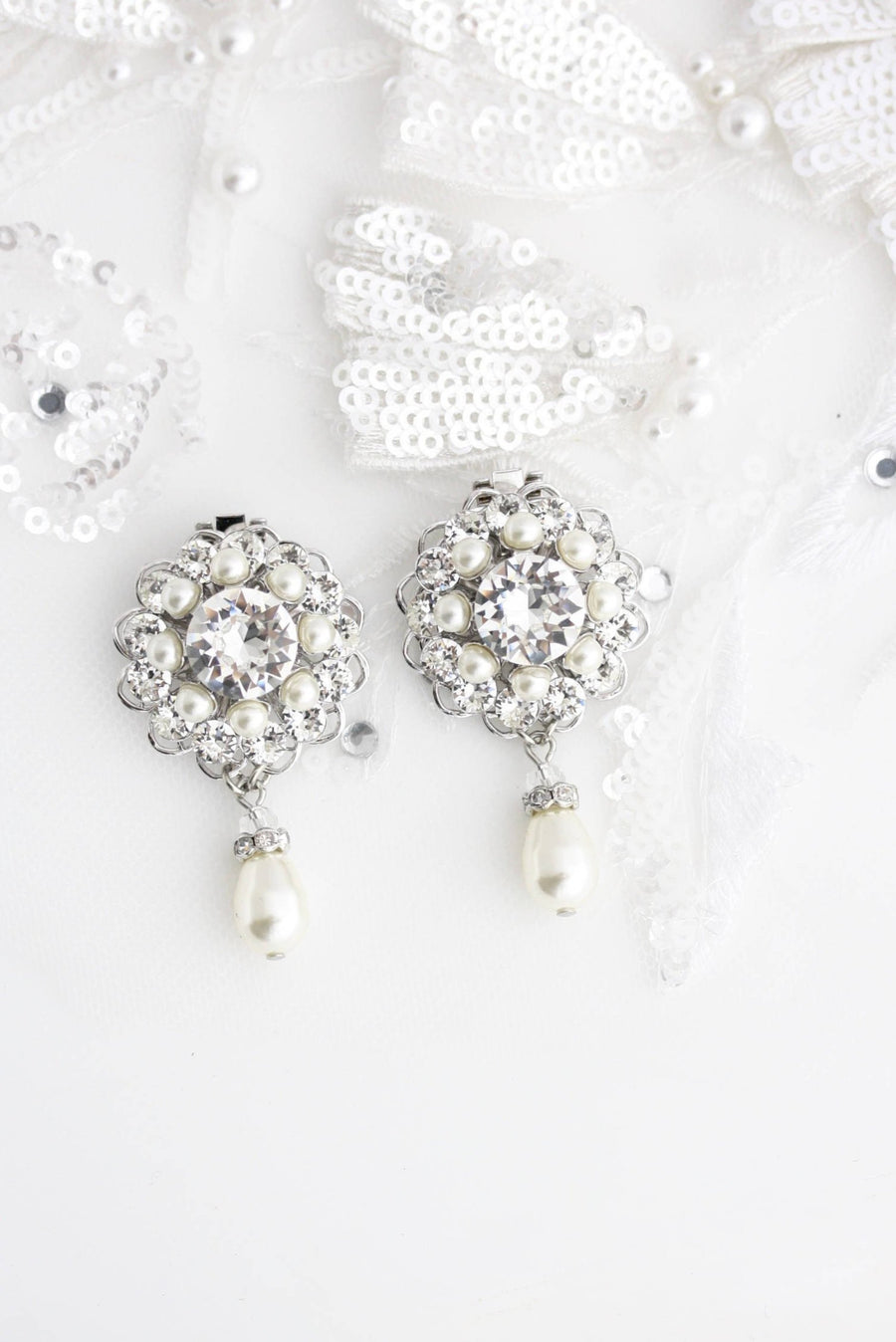 ELLA BRIDAL WEDDING SHOE CLIPS - Lulu Splendor