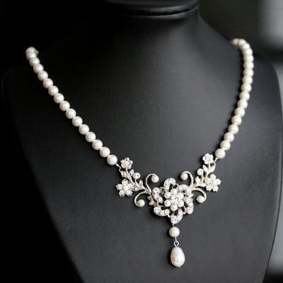 SABINE CLASSIC WEDDING NECKLACE