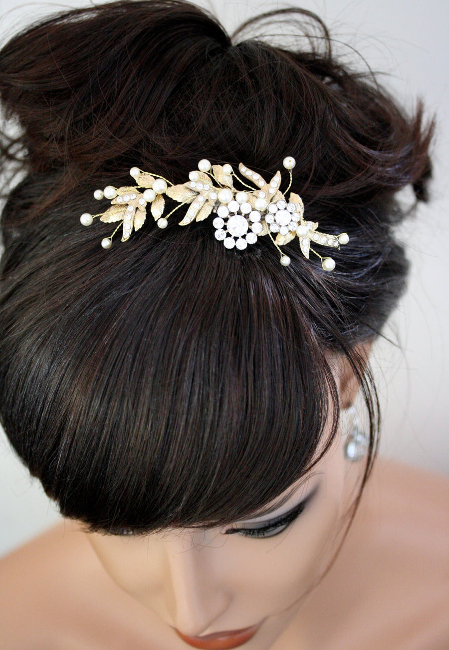 Mier Bridal Hair Comb - Lulu Splendor